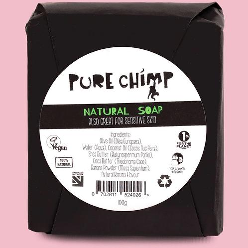 Pure chimp natural soap