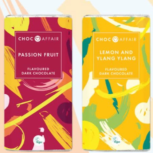 Choc Affair new chocolate bars for spring -vegan friendly
