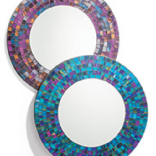 Mosiac handmade mirrors