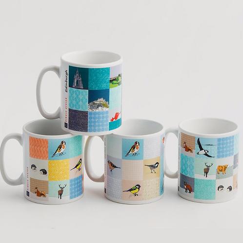 Dibujo design mug - multi mix A