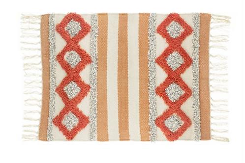 Sass and Belle Arizona orange rug