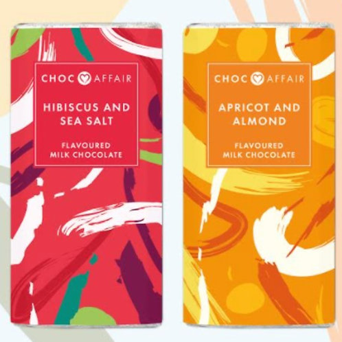 Choc Affair new chocolate bars for spring - limited edition