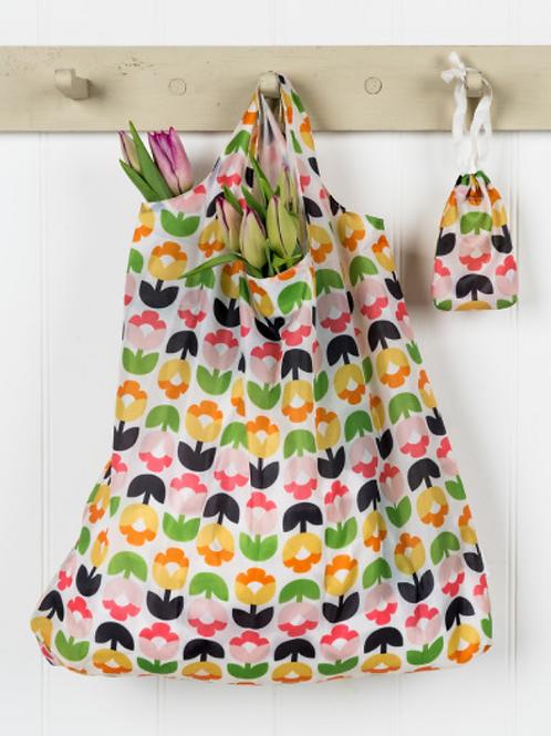 Tulip foldaway shopper bag