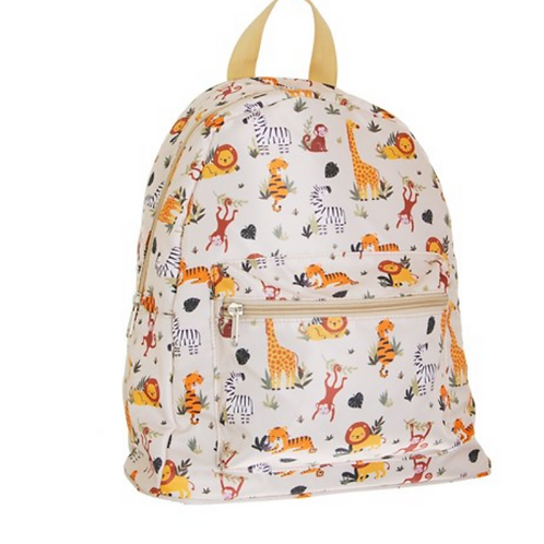 Safari animal backpack