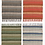 Thumbnail: Stripey recycled material cotton and jute rugs - various colours