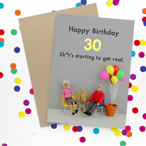 Bold & Bright - Happy 30th birthday