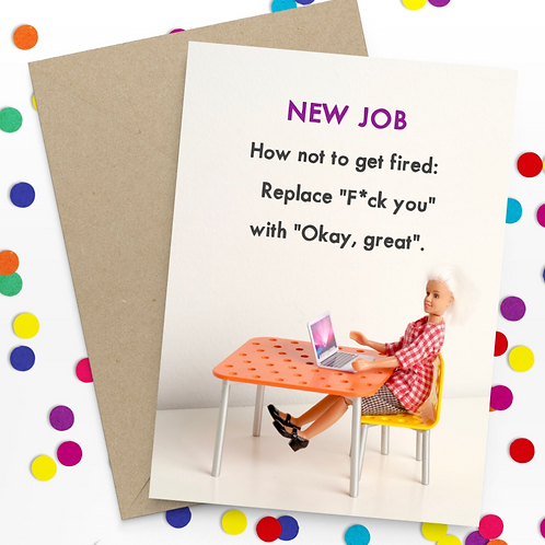 Bold & Bright - new job