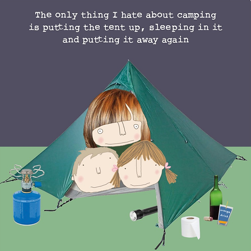 Rosie made a thing - camping