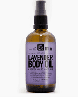 Our tiny bees - lavender body oil
