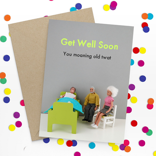 Bold & Bright - Get well soon