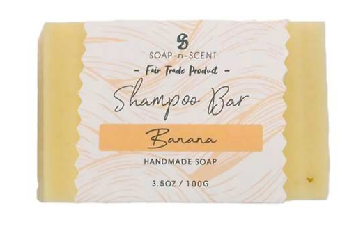 Fair trade Banana solid  shampoo bar