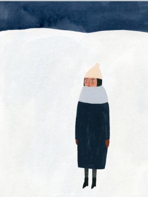 Kate Pugsley art print - 'Winter'