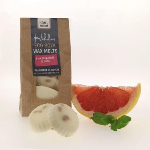 Habulous Eco Melts - Pink Grapefruit and Basil