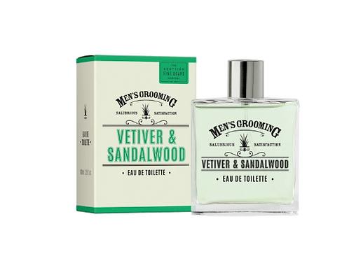 Scottish Fine Soap - eau de toilette vetiver and sandalwood