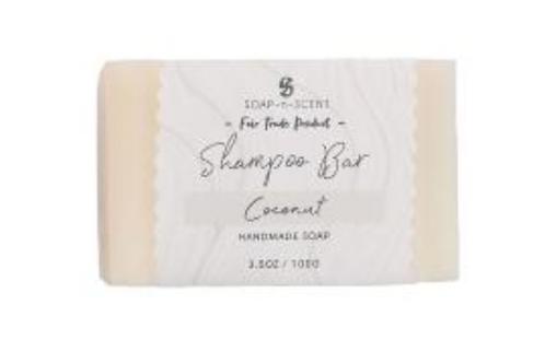 Solid shampoo coconut