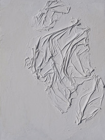 White Abstarct Bas-Relief