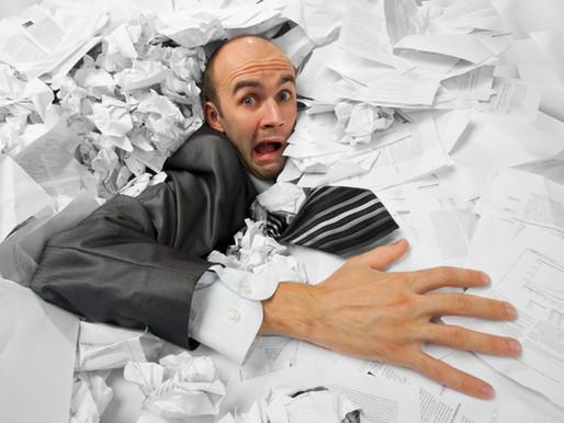 Burocracia tributária, crise e cancelamento de inscrições fiscais