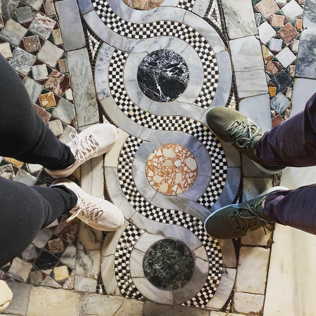 Don't forget to look down at St Mark's Basilica floor.