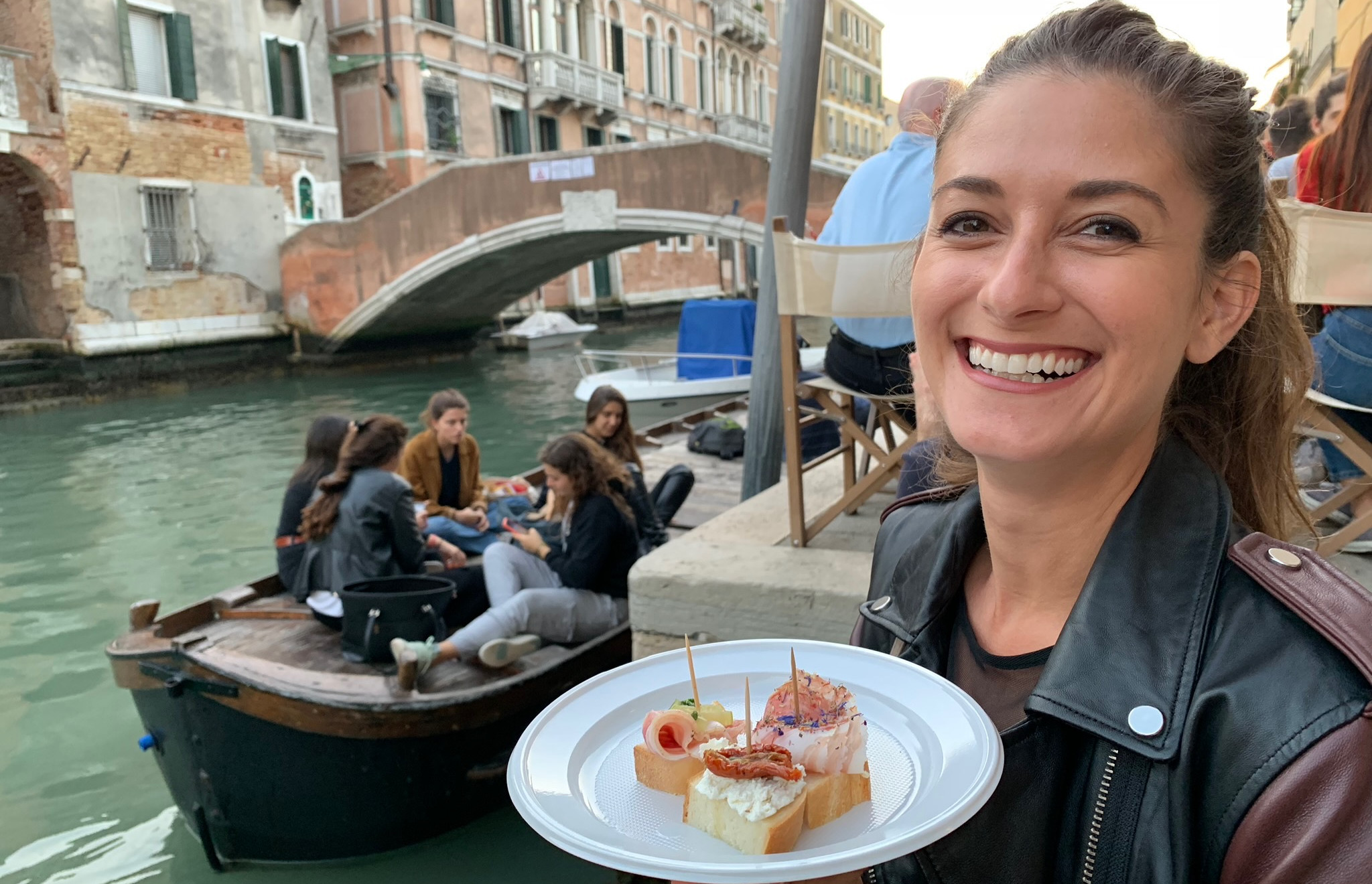 A reward for not falling off of the boat: Cicchetti!