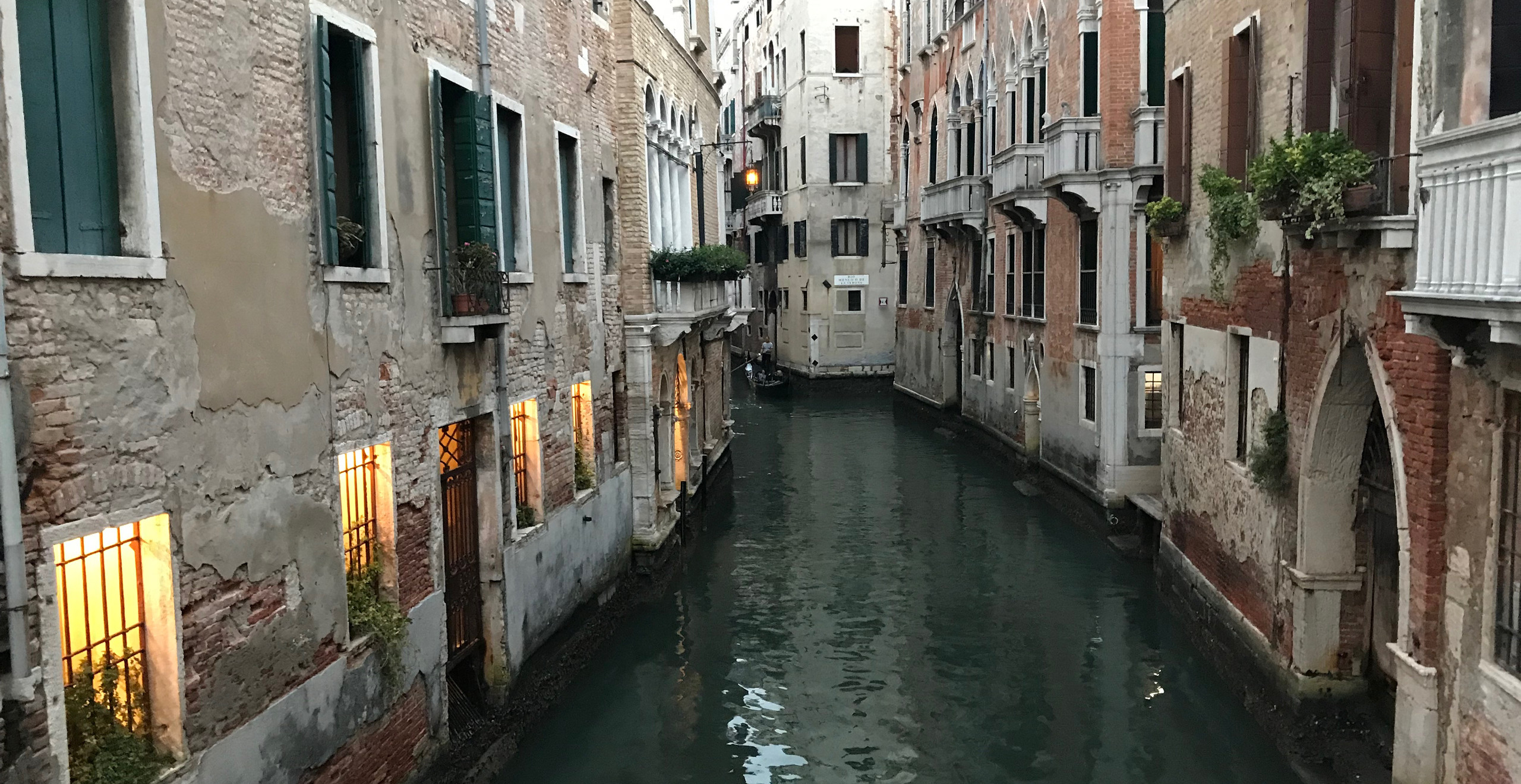 """I've always liked California's """"Venice Canals."""" Now I finally understand what inspired their construction."""