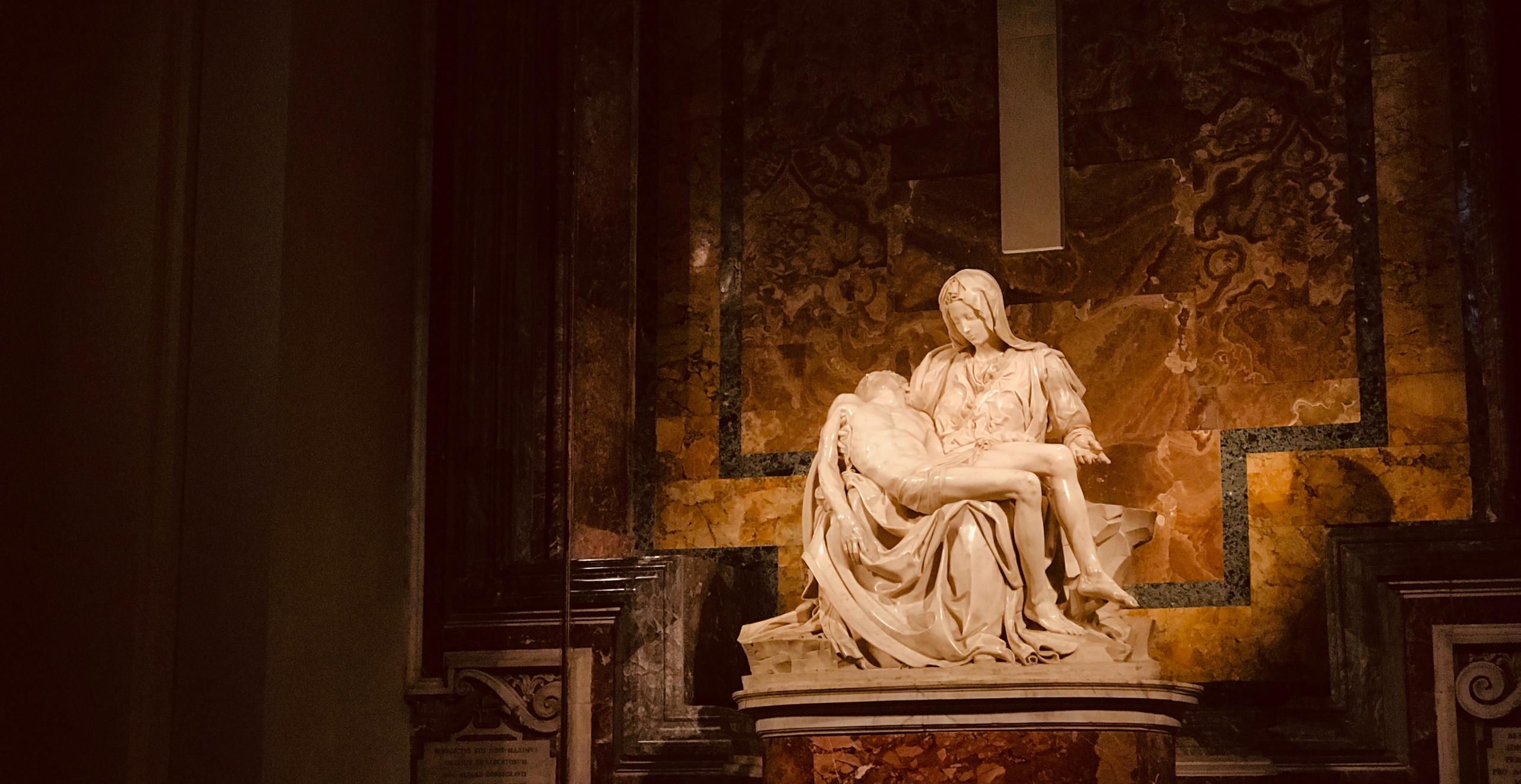 Michelangelo's Pieta.