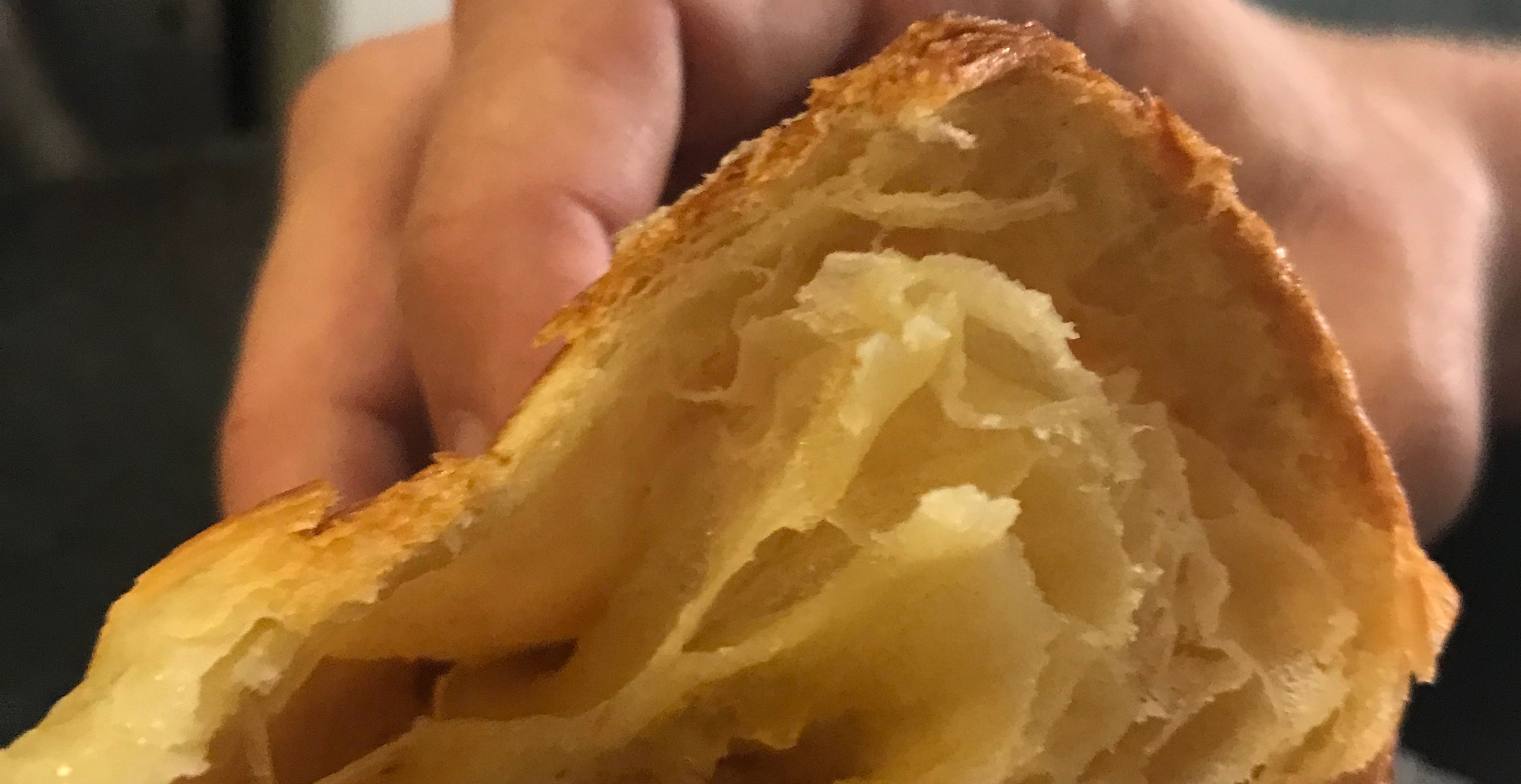 Incredible croissant. Say that five times fast.