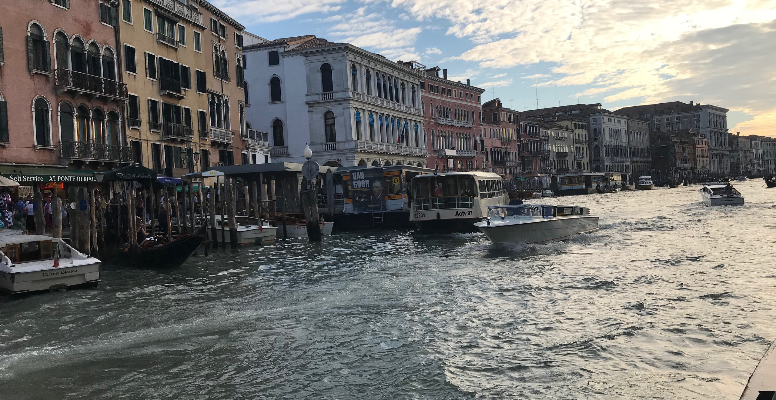 This was my first introduction to Venice. I felt like I was inside a Cezanne painting.