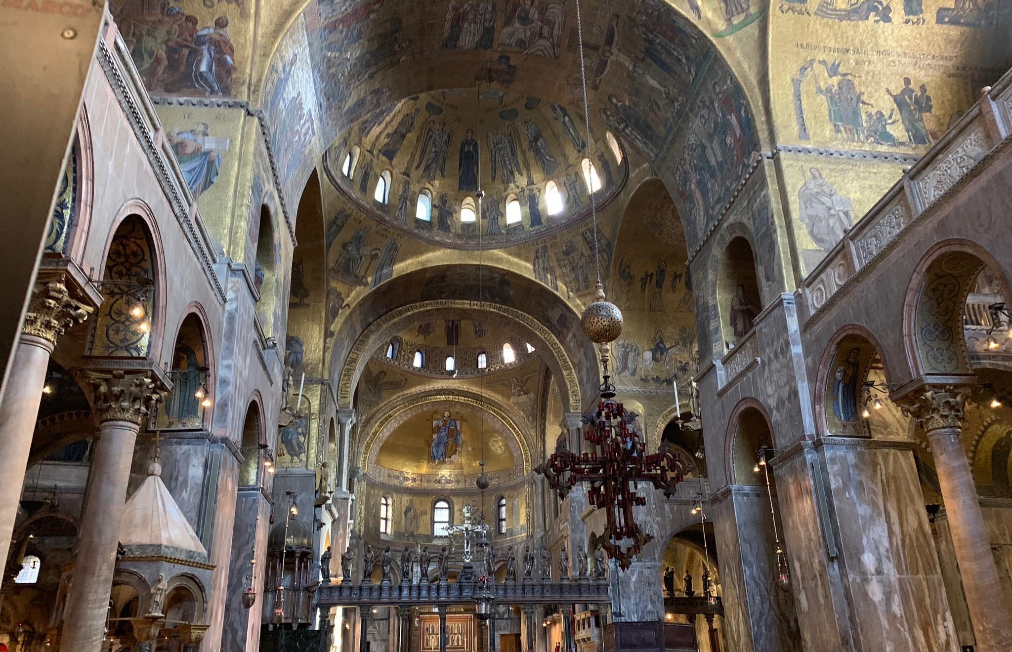 The lavish St. Mark's Basilica