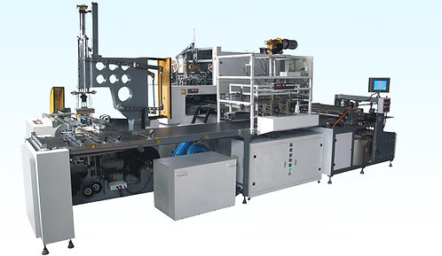 Linia automatyczna do produkcji pudełek oklejanych MZC LPO 660A