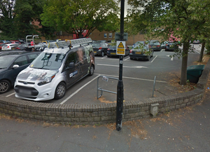 Lack of bike parking for Pure Gym Harrogate