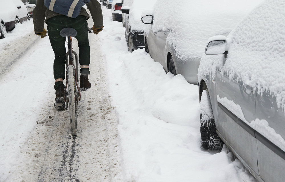 Cycling in a Swedish Winter