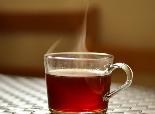Spicy Ginger Tea for a Sore Throat….