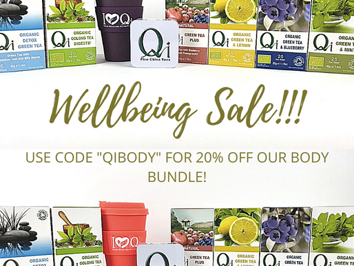 Qi Teas Well-being Sale - February Body Bundle!