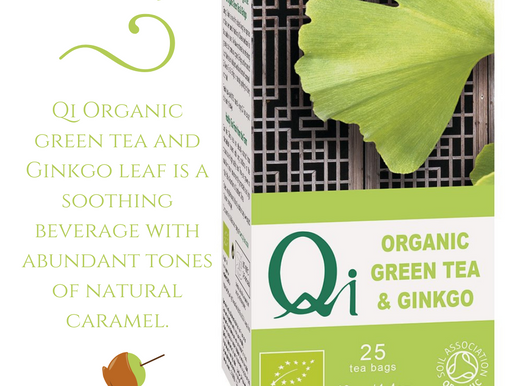 Why we should all be drinking Qi Organic Green Tea & Gingko