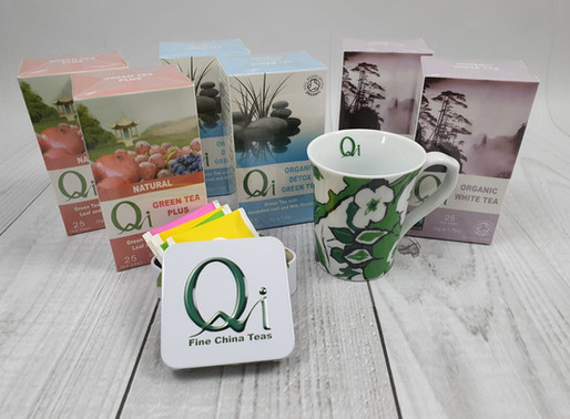 Detox Gently with Qi Teas