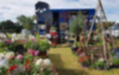 around the garden table, mobile garden c