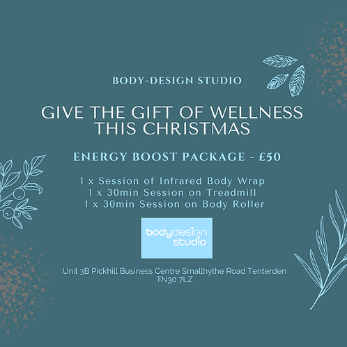Energy Boost Package - £50