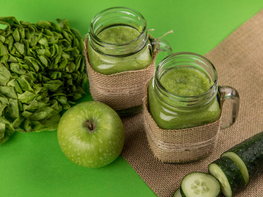 Green, mean Qi Smoothie Dream - Ideal for organic September!