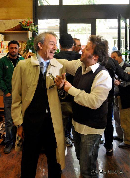 Con Maurizio D'agostino