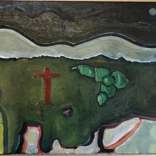 Red Crucifix, 2020