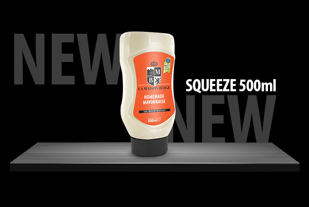 NEW! SQUEEZE 500ml La Maison Belge!