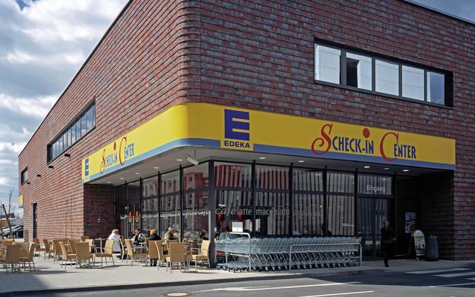 Présentation des confitures en Allemagne au Scheck-In-Center Frankfurt EDEKA