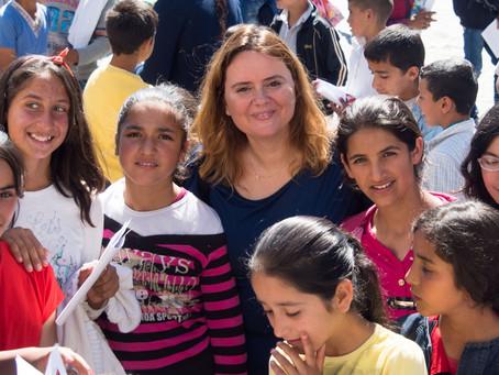 Ağrı Köy Okullarına Desteğe Devam!