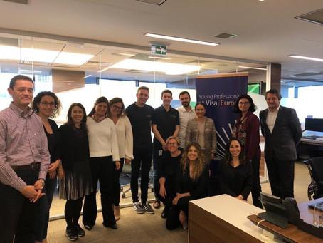 Visa 'Young Professionals' Programı'nda kurum içi girişimcilik deneyimlerimizi paylaştık