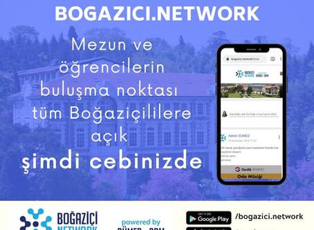 Bogazici.Network Uygulaması  Mobil Platformlarda
