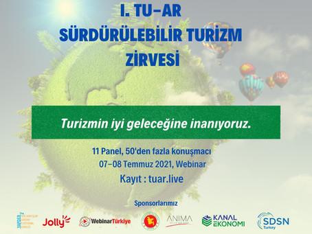 I. TU-AR Sürdürülebilir Turizm Zirvesi
