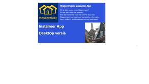 Onze nieuwe app is nu te installeren!