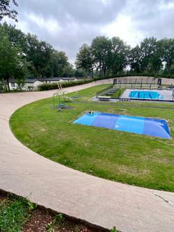 Speeltuin/zwembad