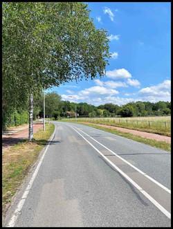 Hollandseweg naar het park