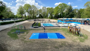 Vernieuwd zwembad Wielerbaan